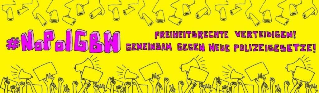 25.05. – Demo gegen neue Polizeigesetze